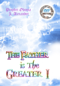 the father is the greater i