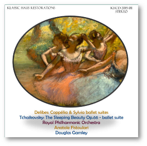 ballet suites by delibes and tchaikovsky - rpo/fistoulari/gamley