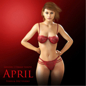 genesis 2 female shapes: april
