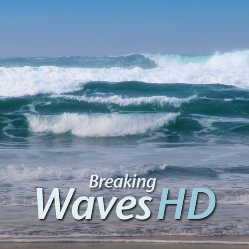 First Additional product image for - Ocean Shore Waves Ambient Video in HD