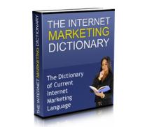 The Internet Marketing Dictionary | eBooks | Internet