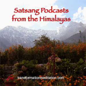 satsang podcast 304, in meditation, just be space, brijendra