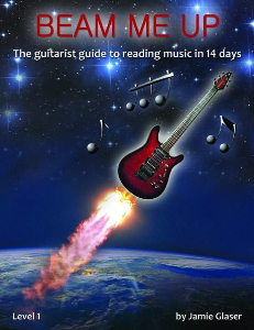 beam me up ( the guitarist guide to reading music in 14 days)