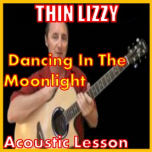 learn to play dancing in the moon-light by thin lizzy