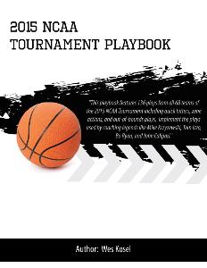 2015 ncaa tournament playbook
