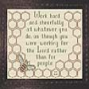 Work Hard and Cheerfully | Crafting | Cross-Stitch | Other