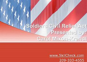 soldiers civil relief act - january 2015
