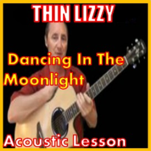 learn to play dancing in the moonlight by thin lizzy