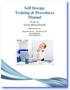 self storage training & procedures manual