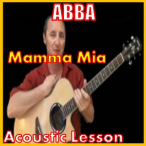 learn to play mamma mia by abba