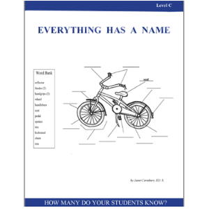 Everything Has A Name - Level C Activity Pack - Grades 3+ | eBooks | Education