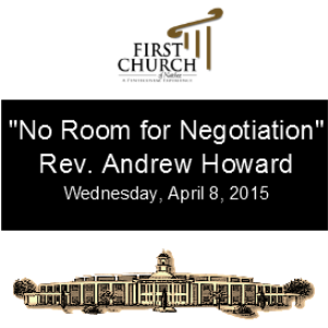 No Room for Negotation Rev. Andrew Howard | Other Files | Everything Else