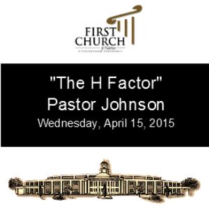 the h factor pastor johnson