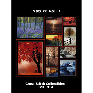 nature vol 1 dvd by cross stitch collectibles