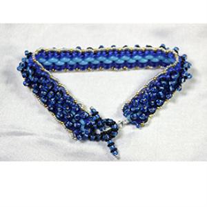 purple mountains bracelet pattern
