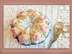 sre pin cushion embroiderers background | Crafting | Embroidery