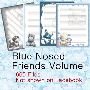 blue nosed friends volume