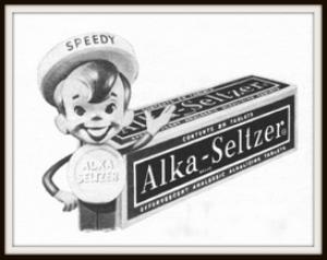 alka-seltzer magazine ads package