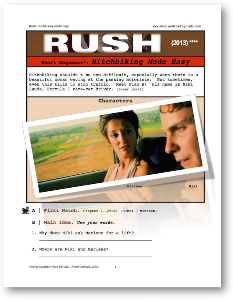 Rush, HITCHHIKING MADE EASY, Short-Sequence English (ESL) Lesson | eBooks | Education