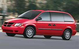 1998 dodge caravan mvma specifications