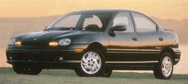 1998 dodge neon mvma specifications