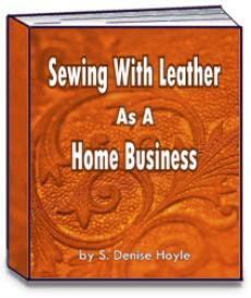 sewing with leather as a home business