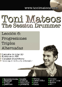 the session drummer. leccion 6. progresiones triples alternadas hd