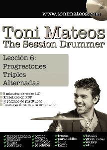 the session drummer. leccion 6. progresiones triples alternadas hd
