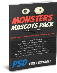 monster mascot maker, fully edible characters