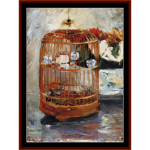 The Cage - Morisot cross stitch pattern by Cross Stitch Collectibles | Crafting | Cross-Stitch | Wall Hangings