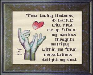 Hold Me Up | Crafting | Cross-Stitch | Other
