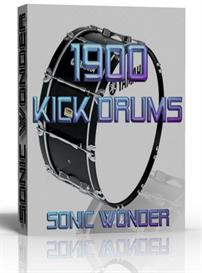 1900 high quality producer kick drums   - wave samples -