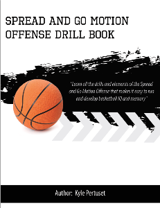 spread and go motion offense drill playbook