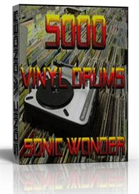 5000 vinyl drums  - wave samples -