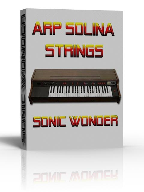 Arp Solina Strings - Wave Multi Samples With Kontakt Files -