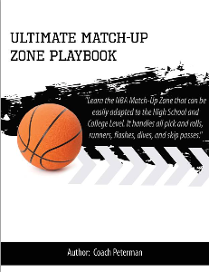 triangle offense and ultimate zone offense combo