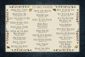 The ABCs of Faith | Crafting | Cross-Stitch | Religious