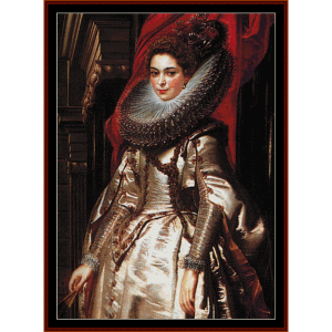 Marchesa Brigida Spinosa - Rubens cross stitch pattern by Cross Stitch Collectibles | Crafting | Cross-Stitch | Wall Hangings