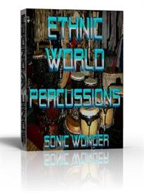 ethnic - world percussion drums  - wave samples -