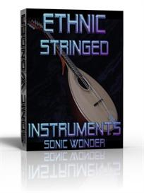ethnic stringed instruments  - wave samples with kontakt files -