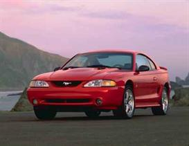 1998 ford mustang mvma specifications