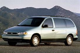 1998 ford windstar mvma specifications