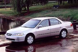 1998 honda accord sedan mvma specifications