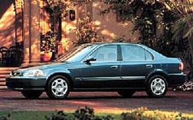 1998 honda civic sedan mvma specifications