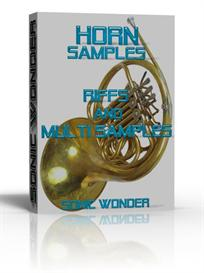 horn samples  -  riffs - single notes  - wave samples -