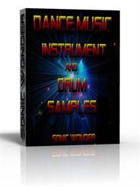 instrument - drum sample pack for dance music  -  wav -  reason  -