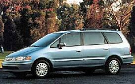1998 honda odyssey mvma specifications