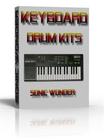 keyboard drum pack   - wave samples -