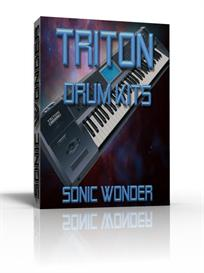 korg triton drum kits   - wave samples -