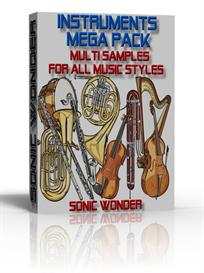 mega instruments multi sample pack  -  for all music styles - wave -